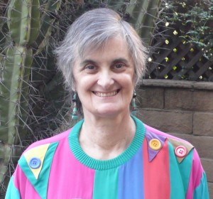 March 2016 MKL harlequin blouse